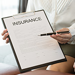 Paper saying insurance